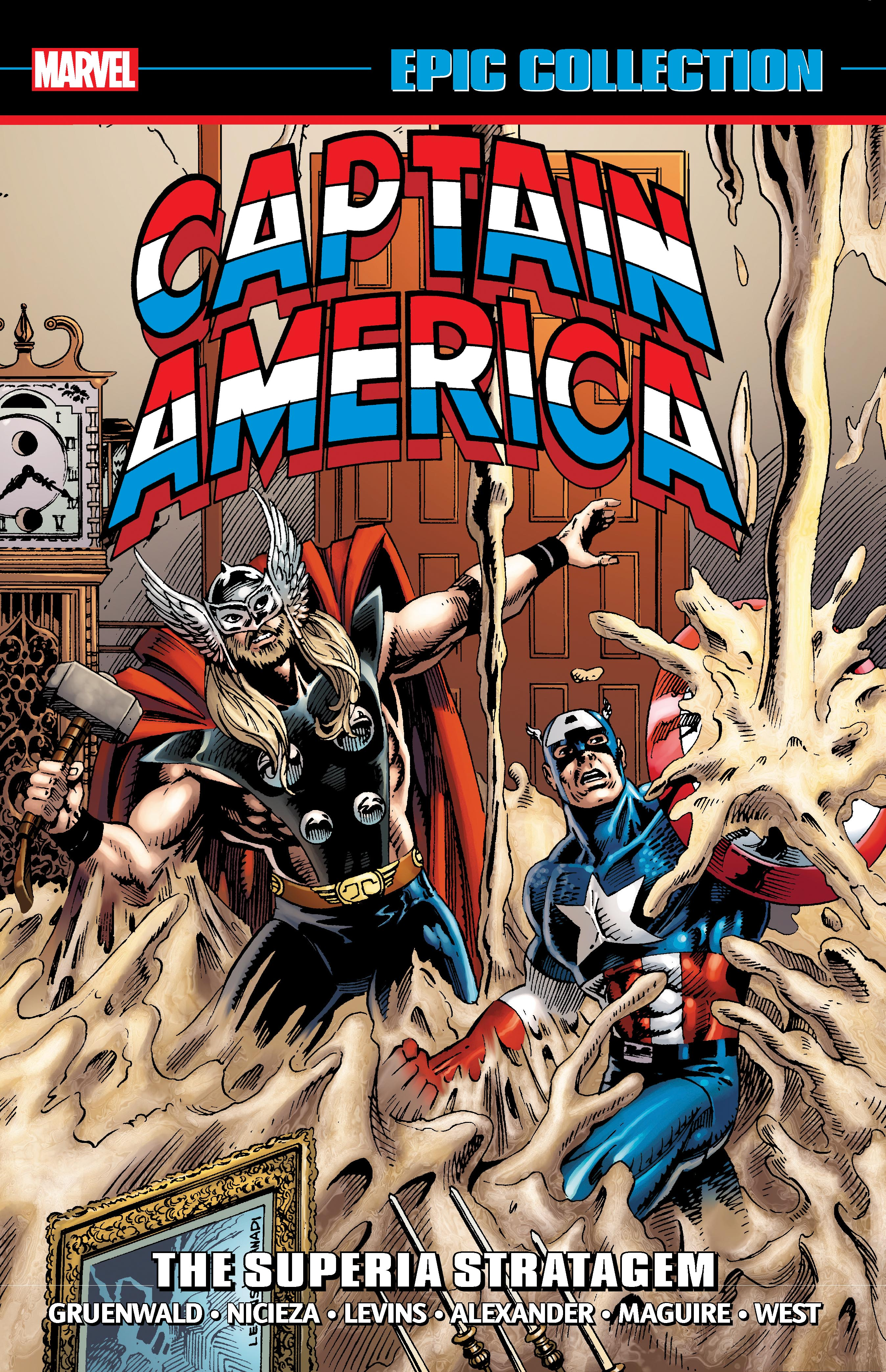 Captain America Epic Collection: The Superia Stratagem (Trade Paperback)