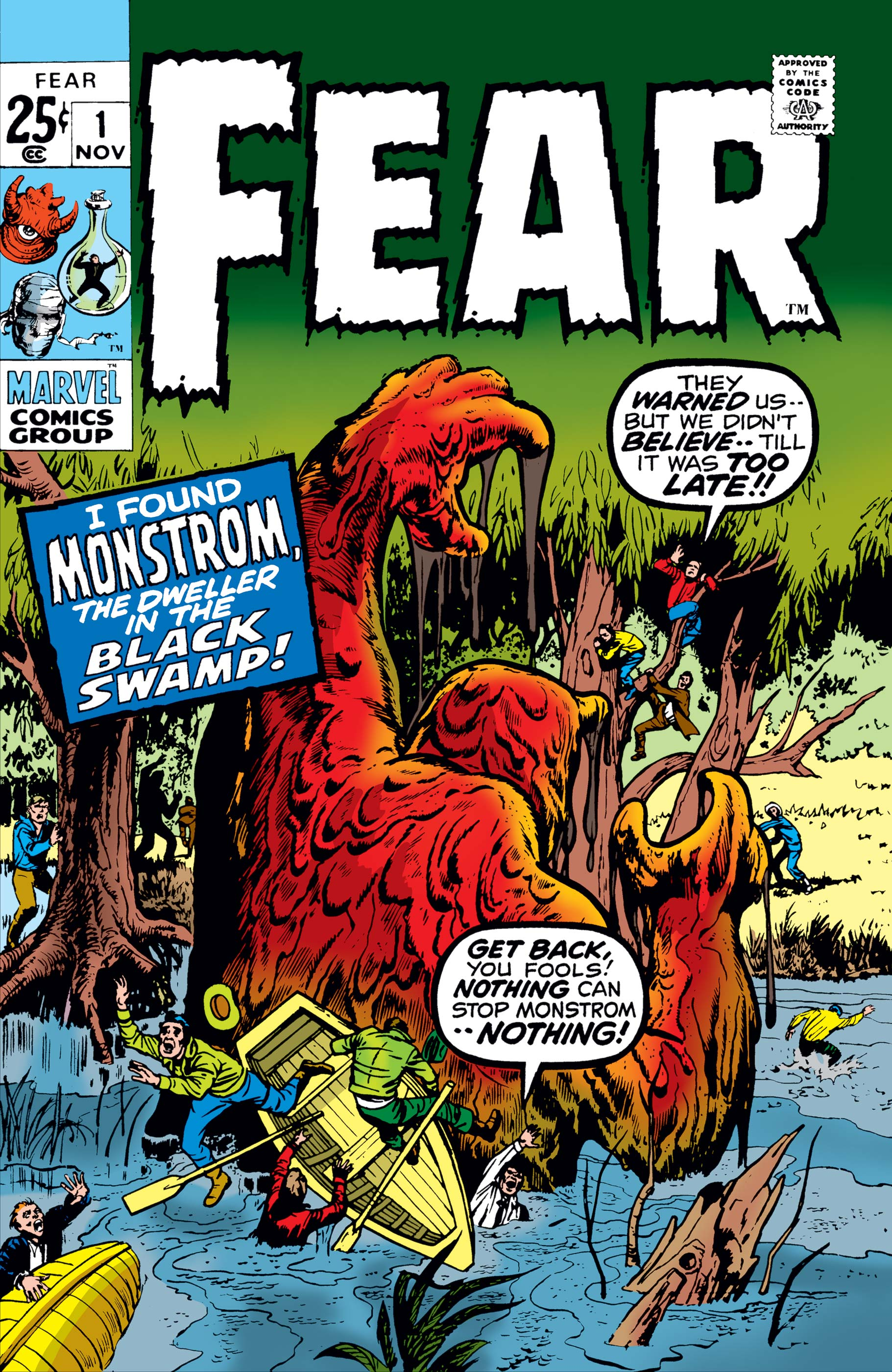 Adventure Into Fear (1970) #1
