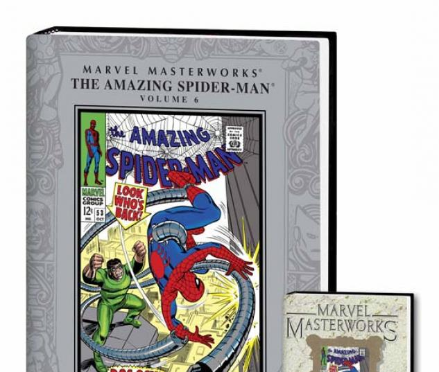 MARVEL MASTERWORKS: THE AMAZING SPIDER-MAN VOL. 6 COVER