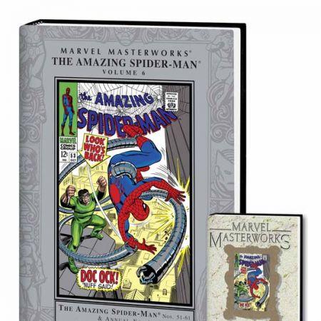 MARVEL MASTERWORKS: THE AMAZING SPIDER-MAN VOL. 6 COVER