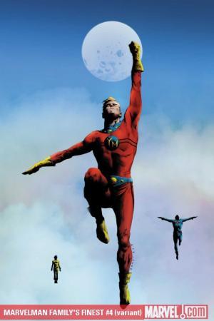 Marvelman Family's Finest #4  (VARIANT)