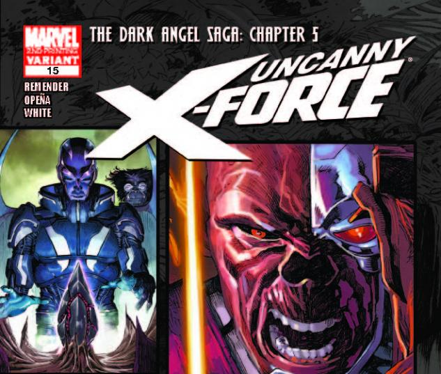 UNCANNY X-FORCE 15 2ND PRINTING VARIANT