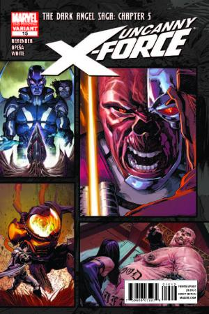 Uncanny X-Force (2010) #15 (2nd Printing Variant)