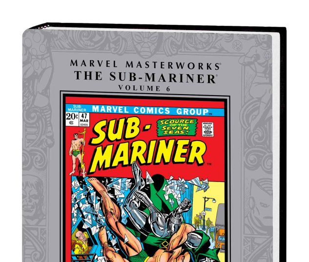 MARVEL MASTERWORKS: THE SUB-MARINER VOL. 6 HC