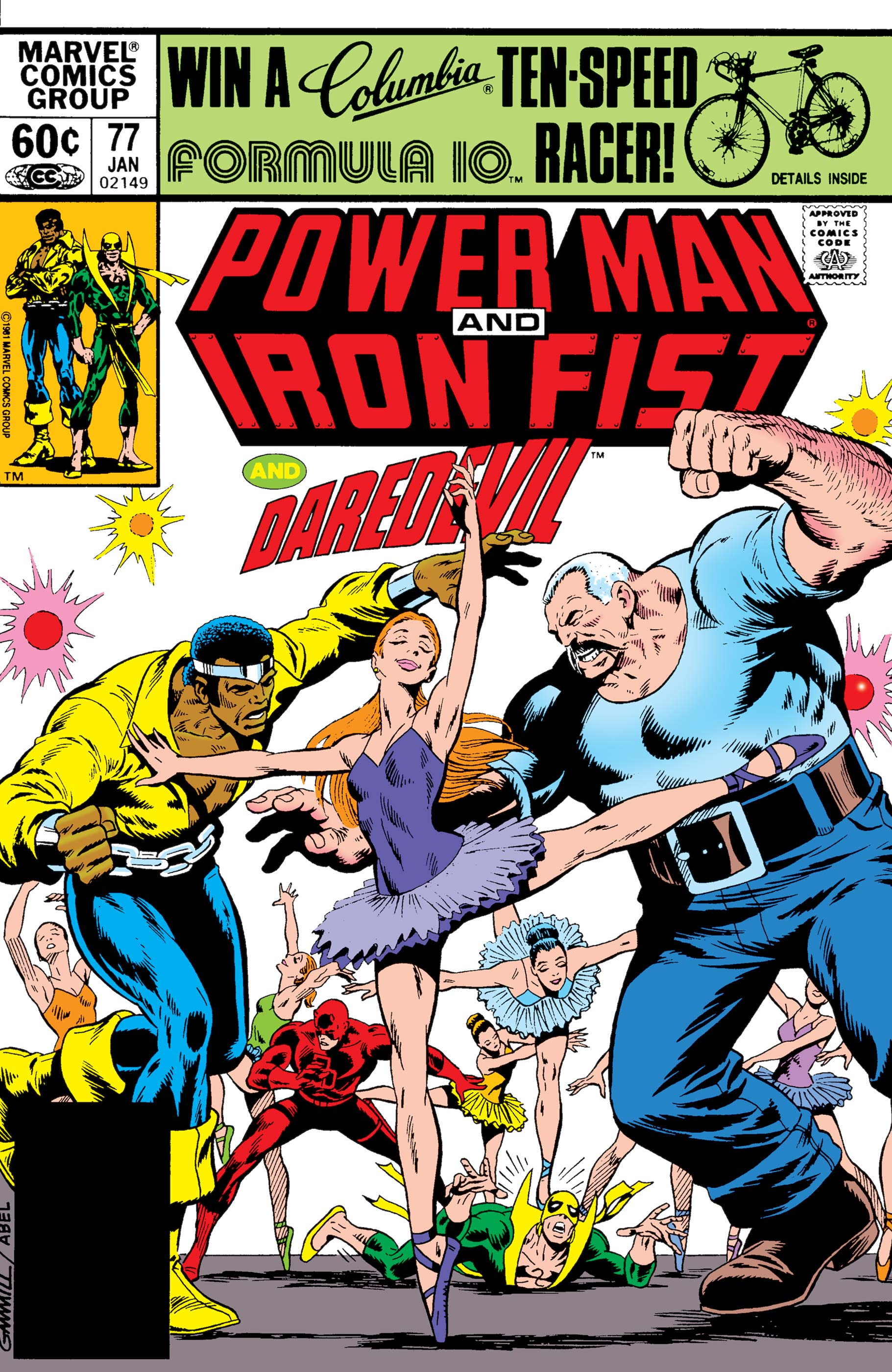 Power Man and Iron Fist (1978) #77