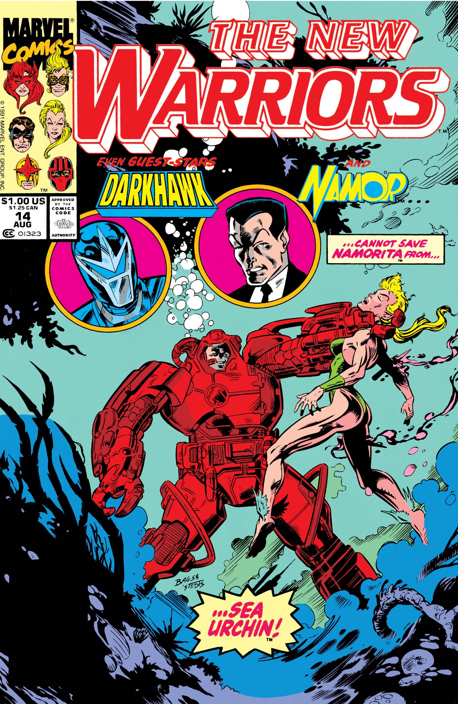 New Warriors (1990) #14