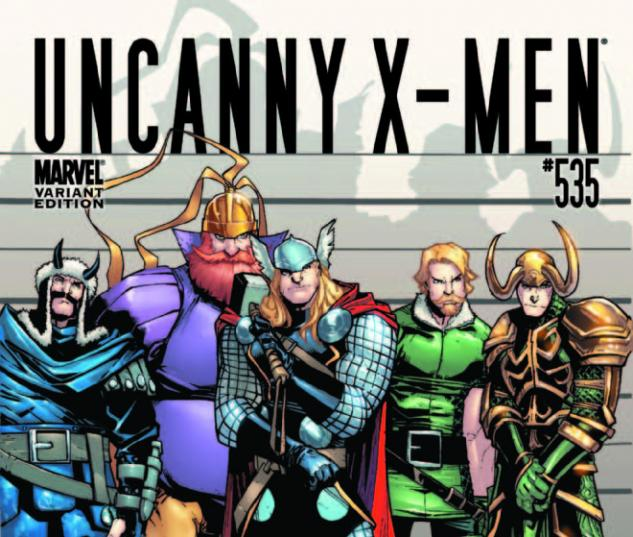 Uncanny X-Men (2010) #535, THOR HOLLYWOOD VARIANT