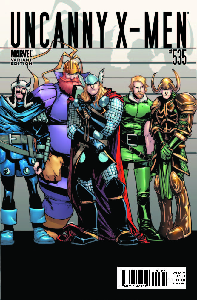Uncanny X-Men (1963) #535 (THOR HOLLYWOOD VARIANT)