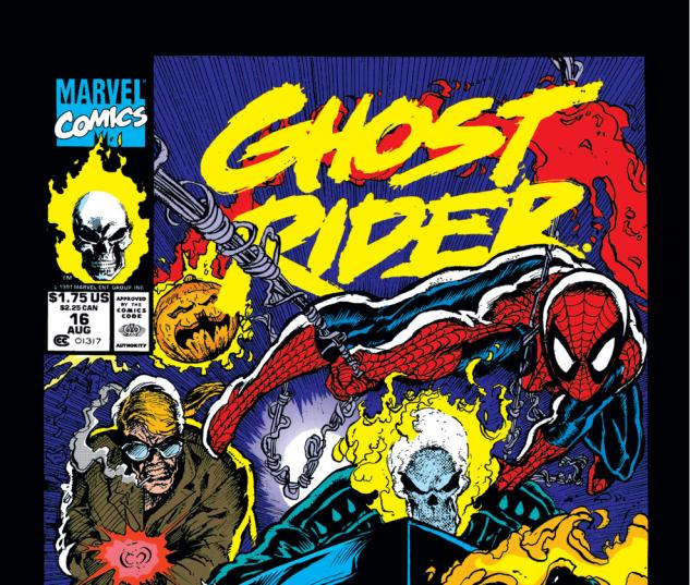 Ghost Rider (1990) #16 Cover