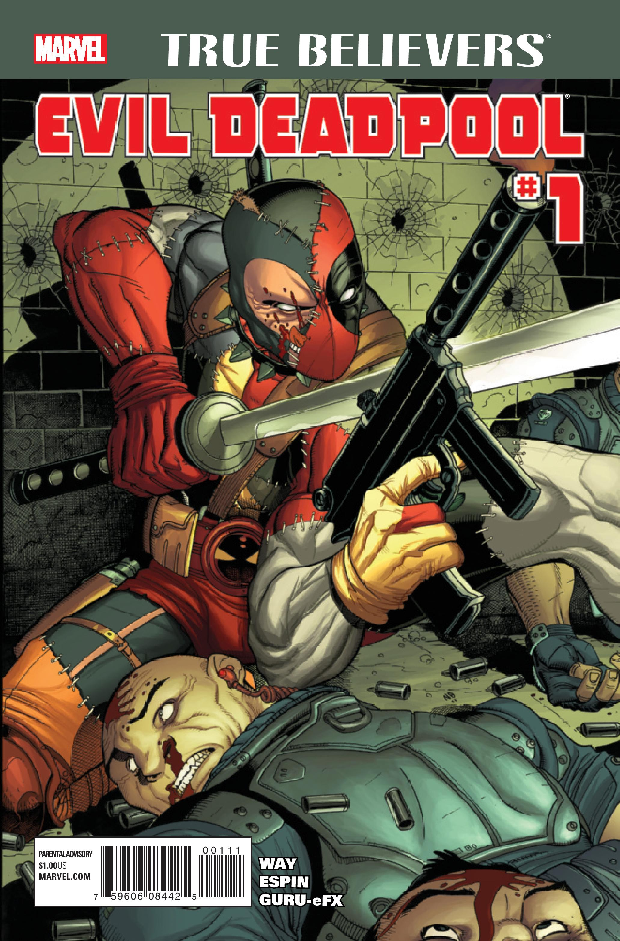 TRUE BELIEVERS: EVIL DEADPOOL 1 (2016) #1