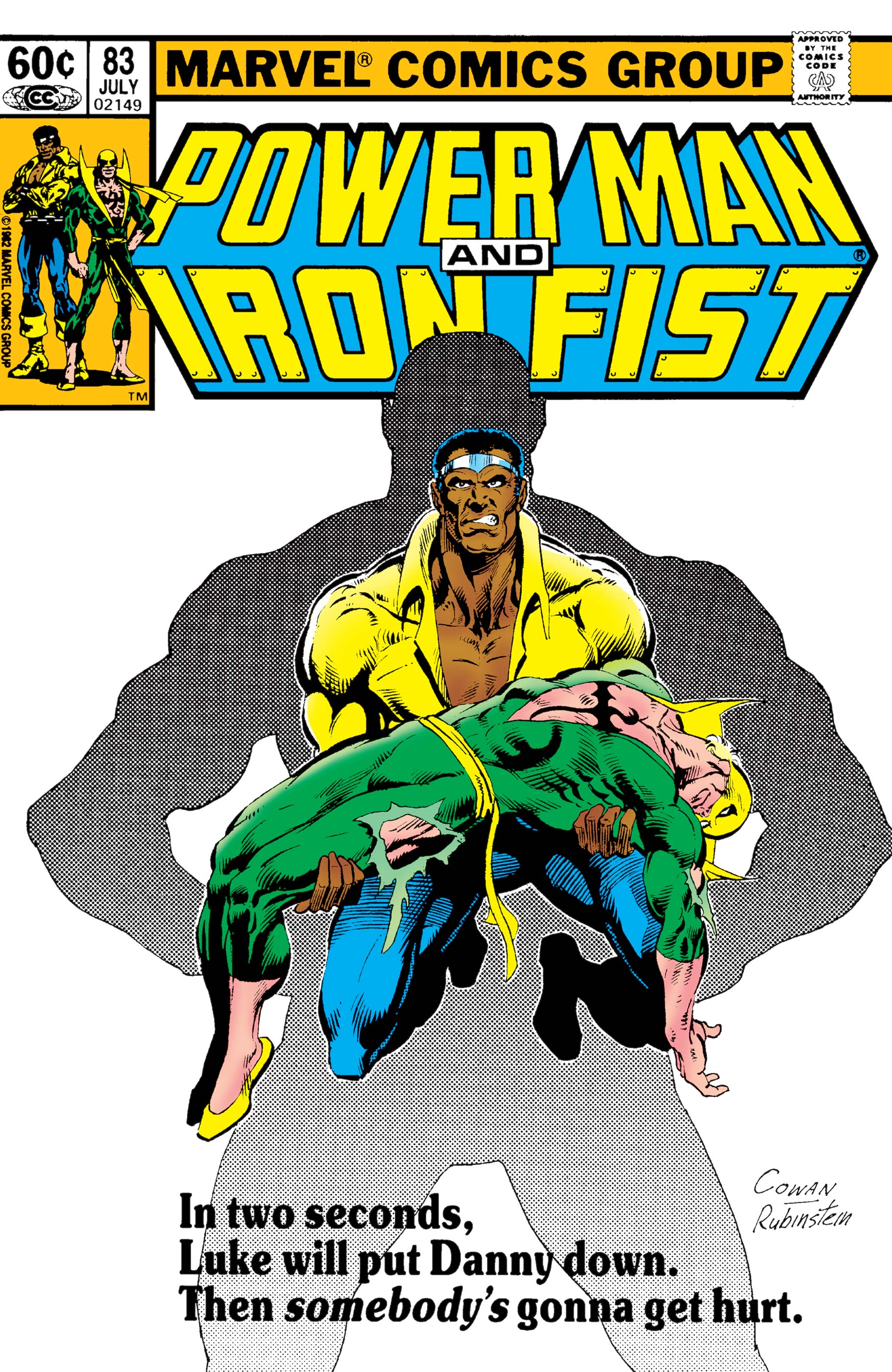 Power Man and Iron Fist (1978) #83
