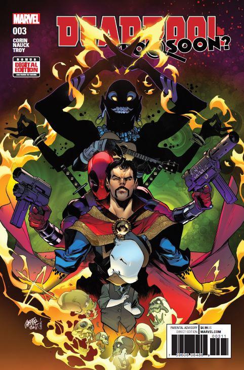 Deadpool: Too Soon? (2016) #3