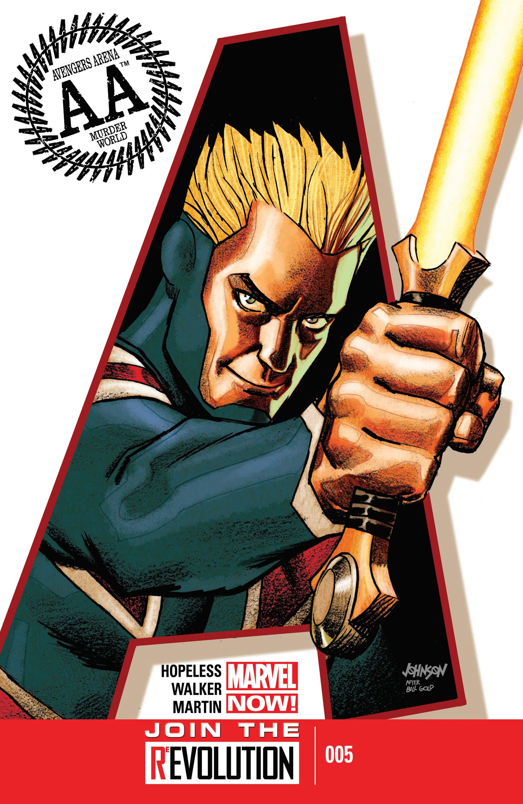 Avengers Arena (2012) #5