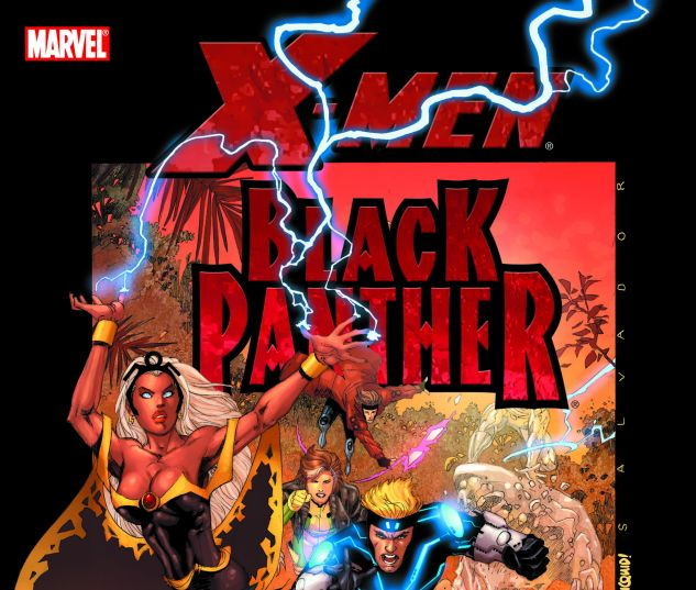 X-MEN/BLACK PANTHER 0 cover