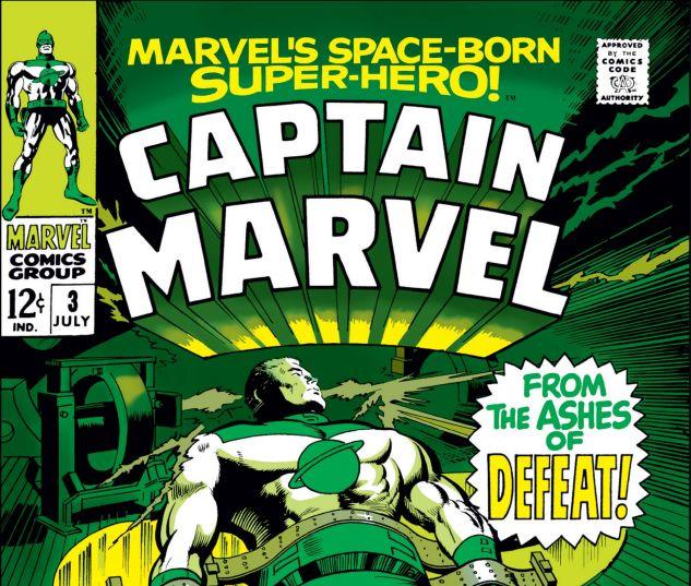 CAPTAIN MARVEL (1968) #3