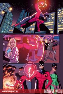 Masked Marvel #1