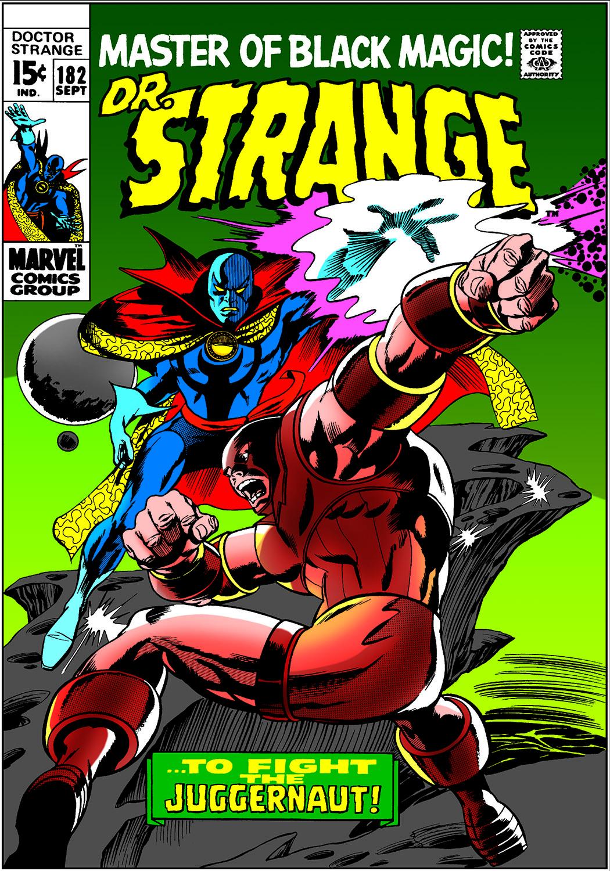 Doctor Strange (1968) #182
