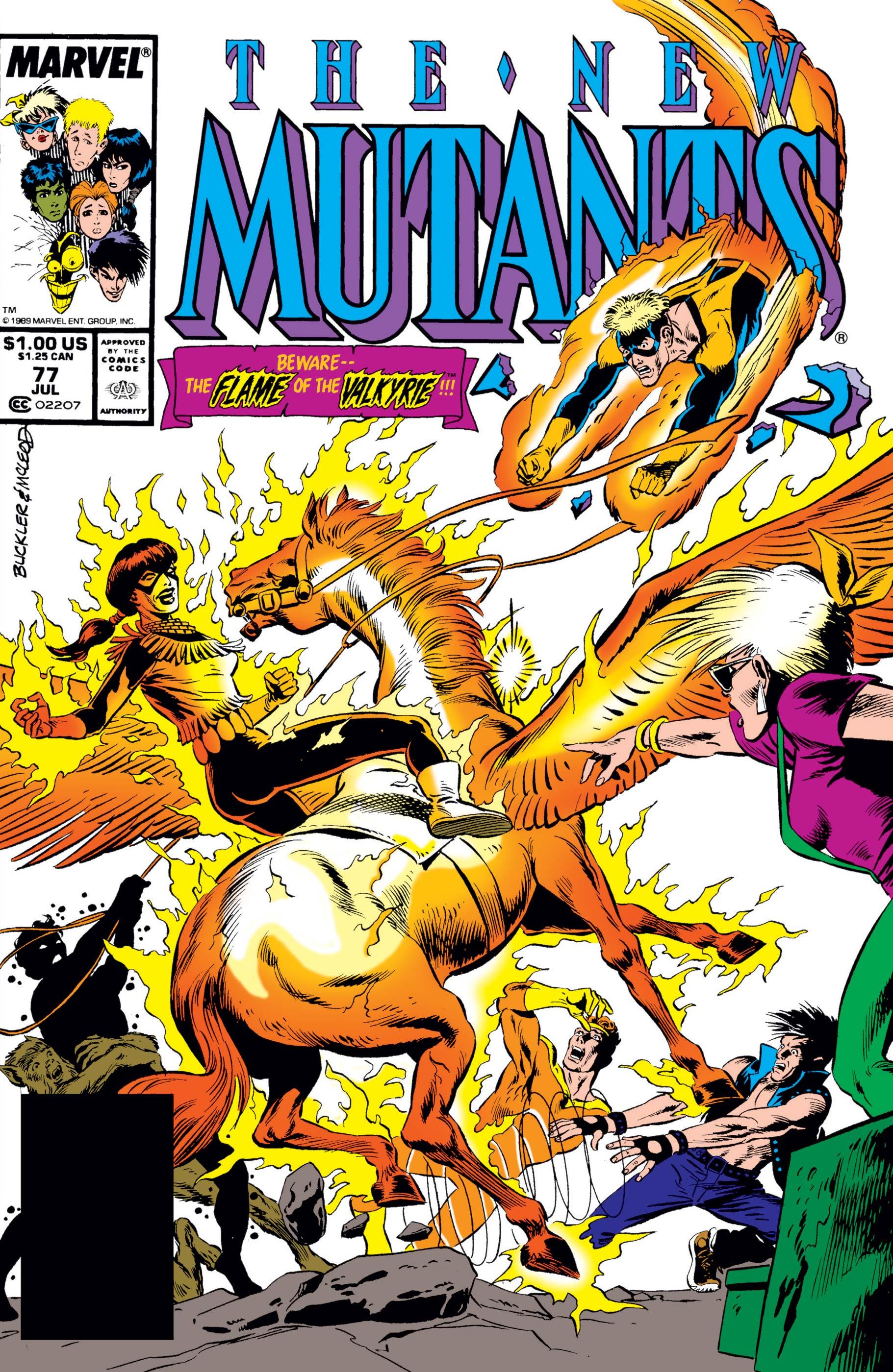 New Mutants (1983) #77