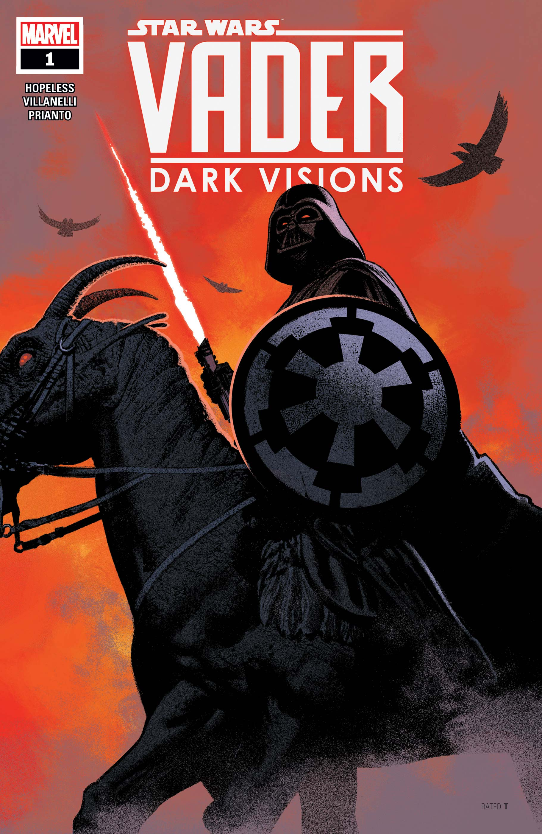Star Wars: Vader - Dark Visions (2019) #1