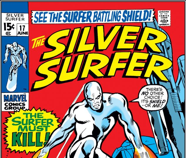 SILVER SURFER (1968) #17