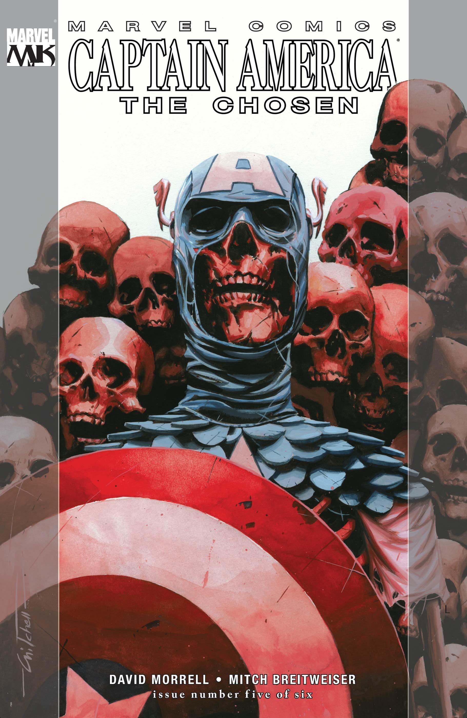 Captain America: The Chosen (2007) #5