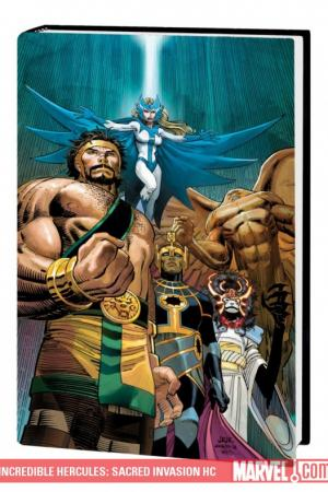 Incredible Hercules: Sacred Invasion (Hardcover)