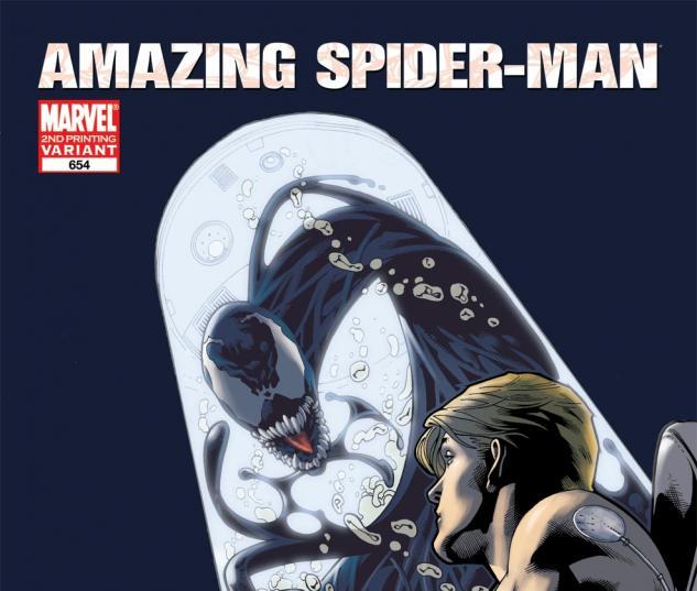 Amazing Spider-Man (1999) #654, 2nd Printing Variant
