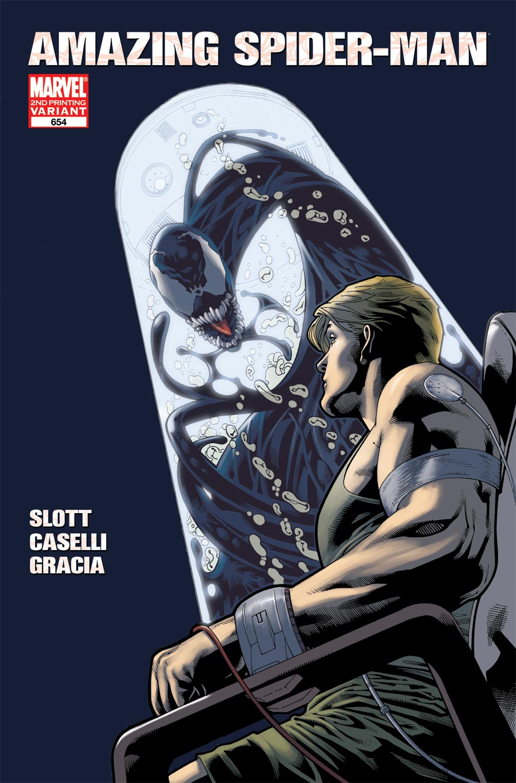 Amazing Spider-Man (1999) #654 (2nd Printing Variant)