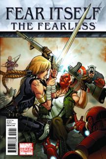 Fear Itself: The Fearless (2011) #1 (Tbd Artist Variant D)