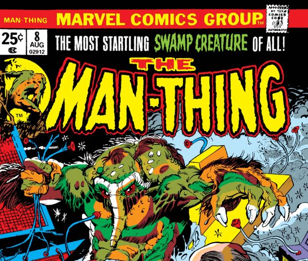Man-Thing (1974) #8