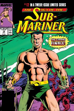 Saga of the Sub-Mariner (1988) #12