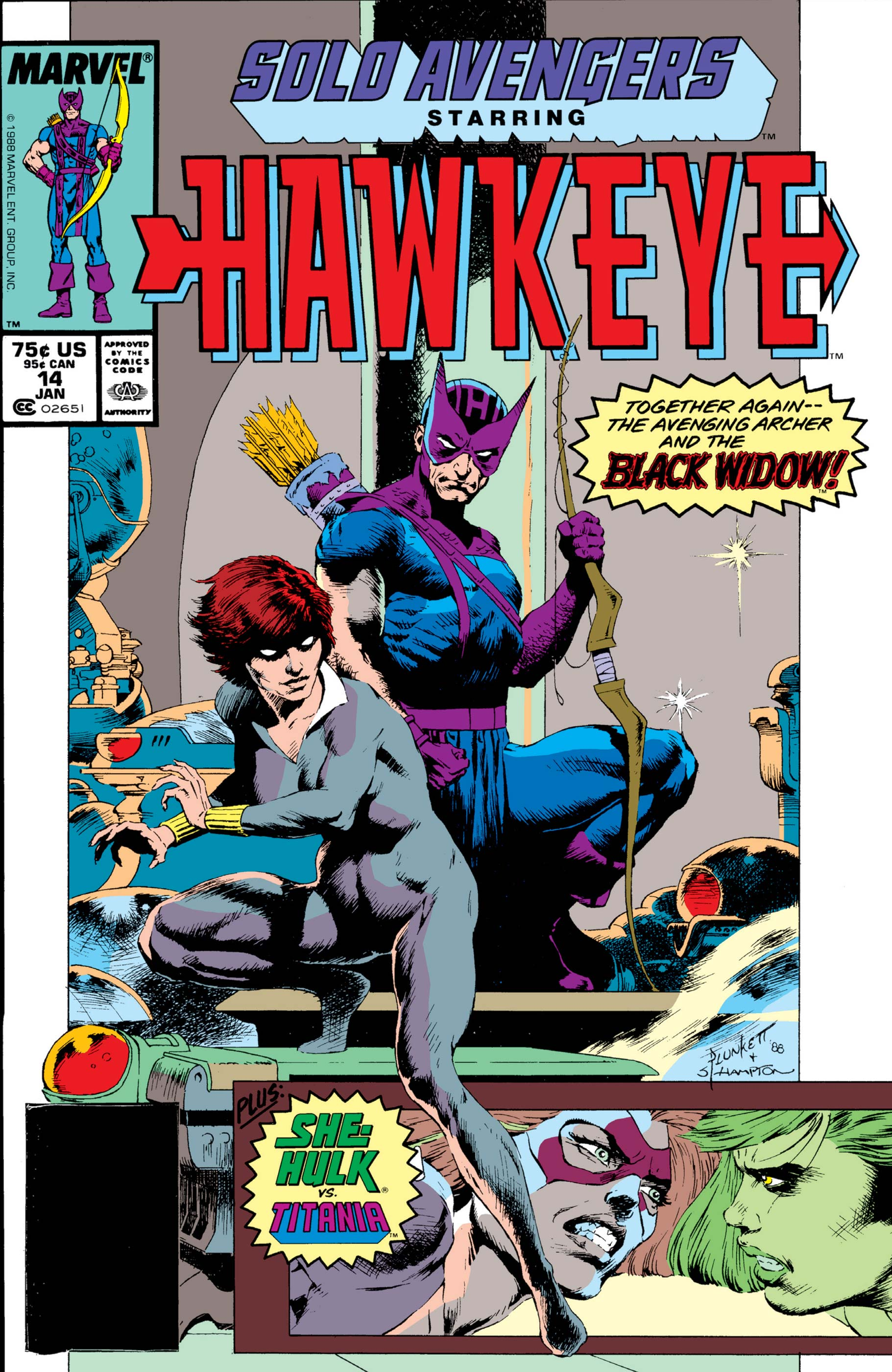 Solo Avengers (1987) #14