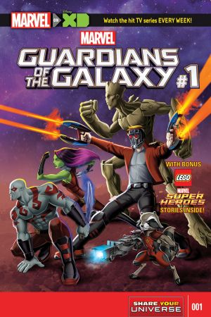 Marvel Universe Guardians of the Galaxy (2015 - 2017)