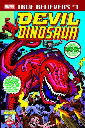 True Believers: Kirby 100th - Devil Dinosaur (2017) #1