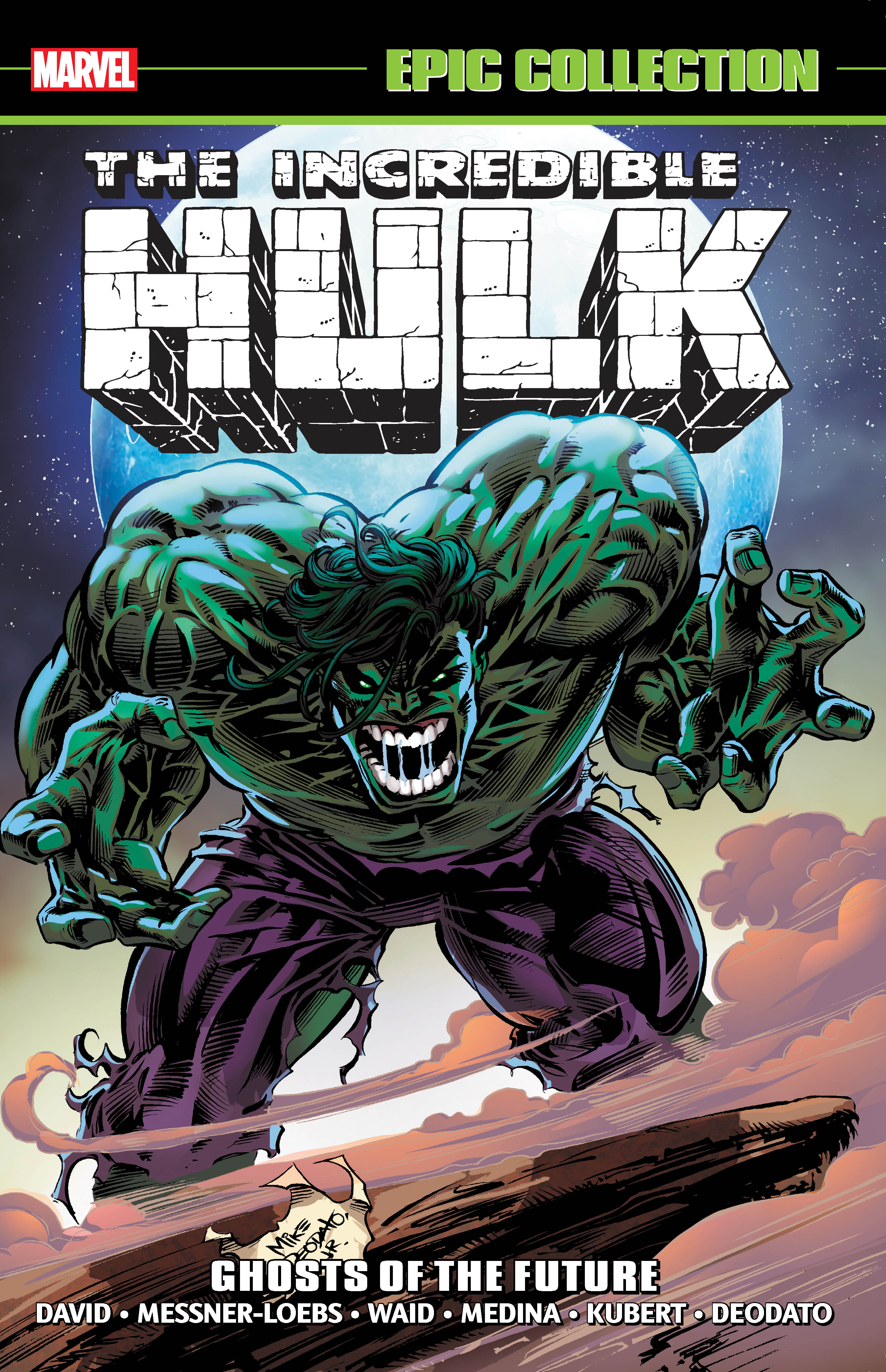 Incredible Hulk Epic Collection: Ghosts of the Future (Trade Paperback)