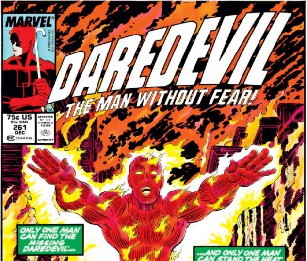 DAREDEVIL #261 COVER