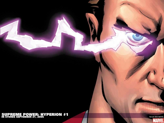 Supreme Power: Hyperion (2005) #1 Wallpaper
