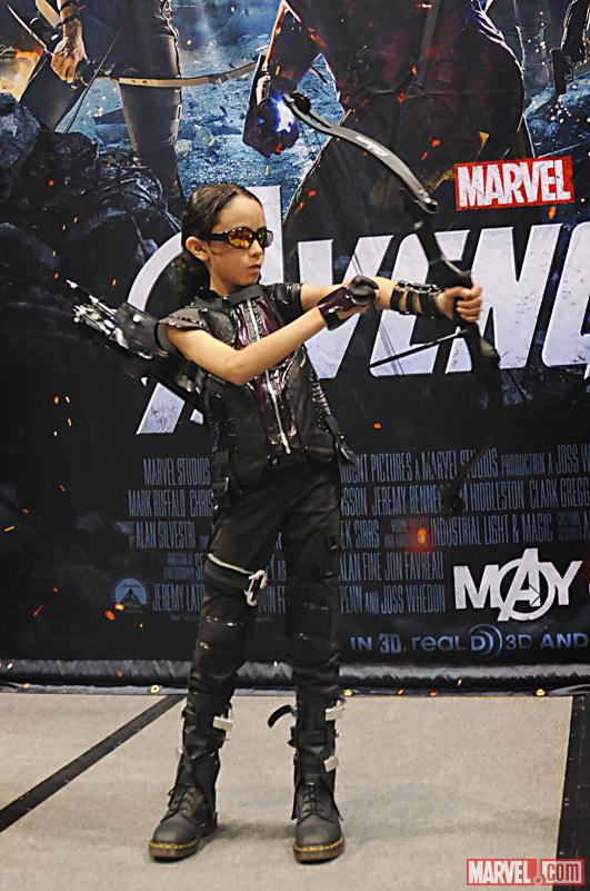 C2E2 2012 Hawkeye at the Hawkeye Avengers Costume For Kids  sc 1 st  tvnewsclips.info & Hawkeye Avengers Costume For Kids - 2018 images u0026 pictures - Hawkeye ...
