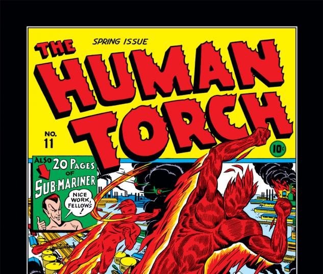 Human Torch (1940) #11 Cover