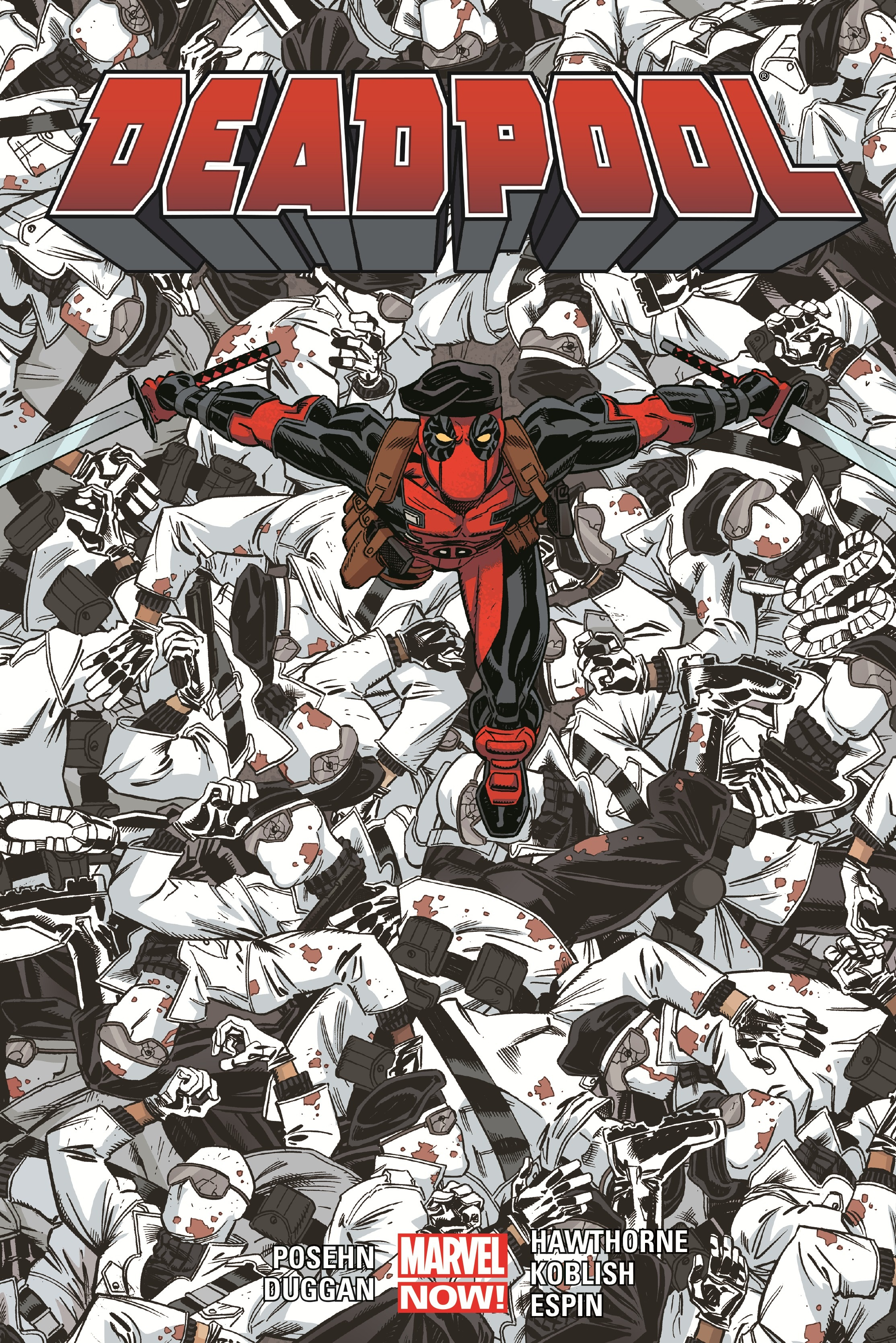 Deadpool by Posehn & Duggan Vol. 4 (Hardcover)