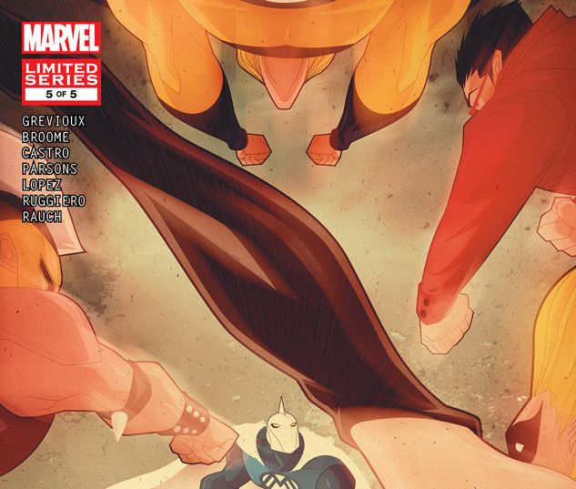 Adam Legend of the Blue Marvel #5 Cover