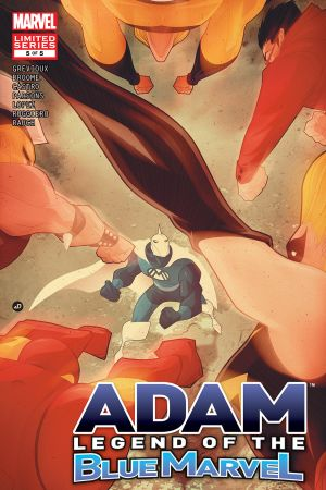 Adam: Legend of the Blue Marvel (2008) #5
