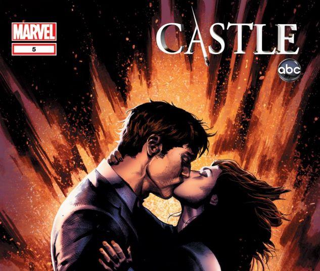 CASTLE: A CALM BEFORE STORM (2012) #5 Cover