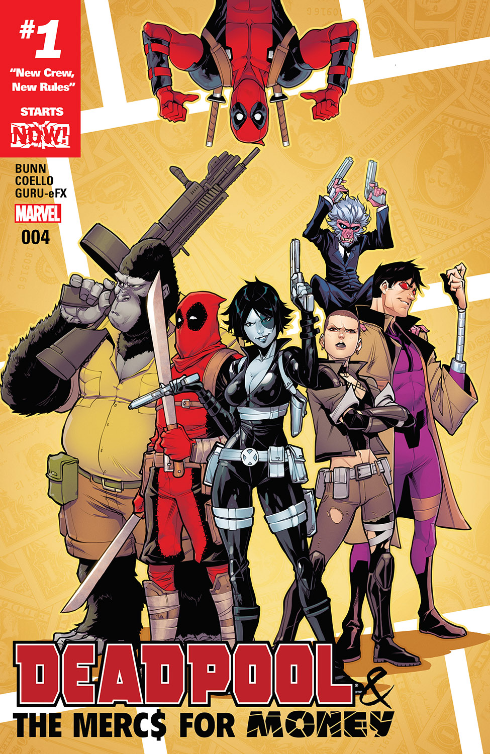 Deadpool & the Mercs for Money (2016) #4