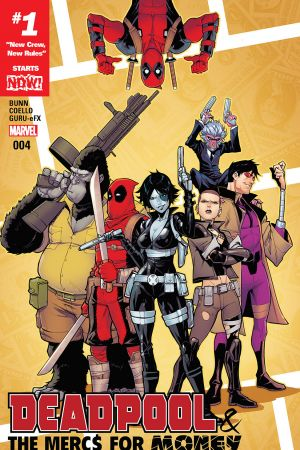 Deadpool & the Mercs for Money #4