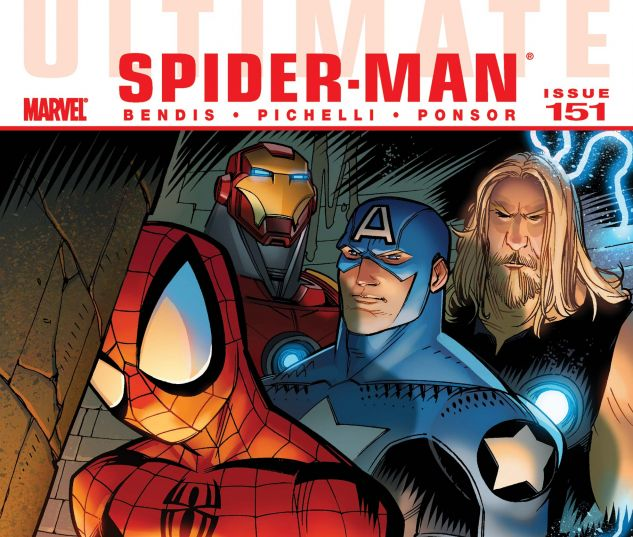 ULTIMATE COMICS SPIDER-MAN (2009) #151