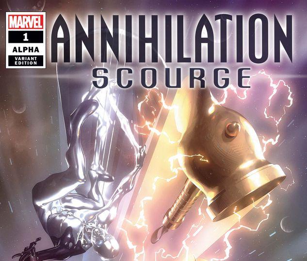 ANNIHILATION - SCOURGE ALPHA 1 GARNER VARIANT #1