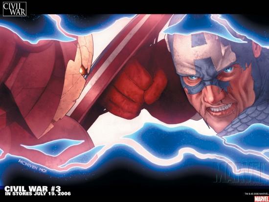 Civil War (2006) #3 Wallpaper