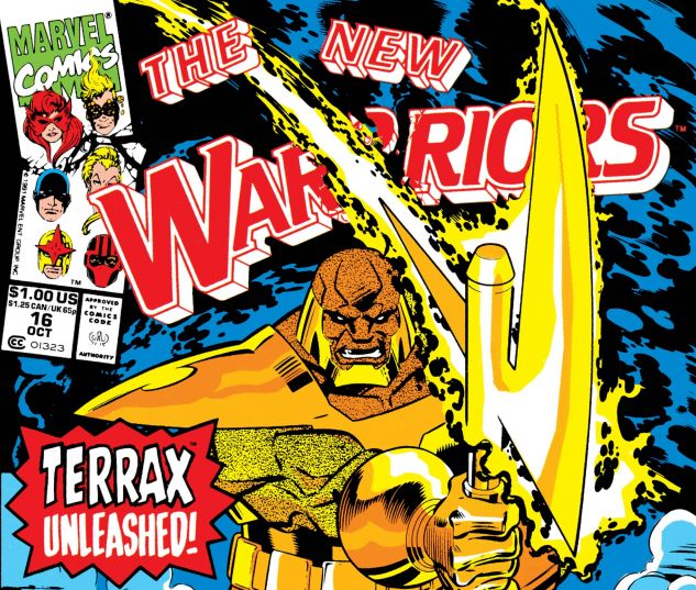 Cover to New Warriors (1990) #16