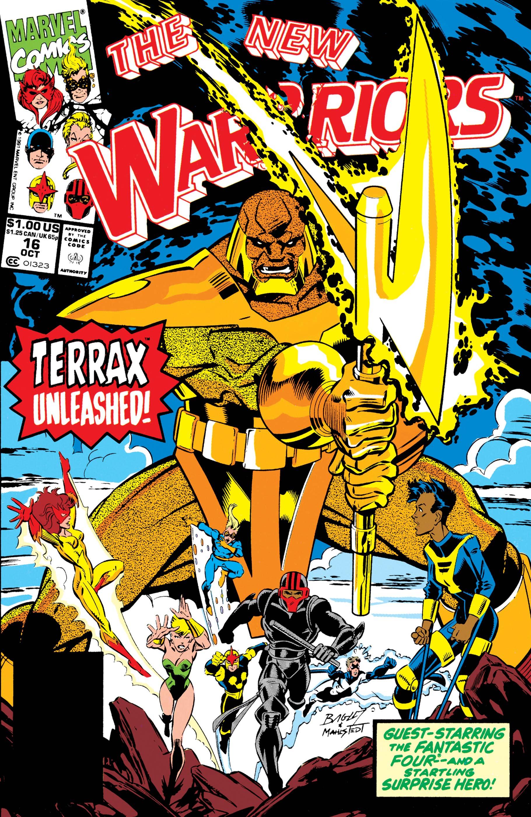 New Warriors (1990) #16